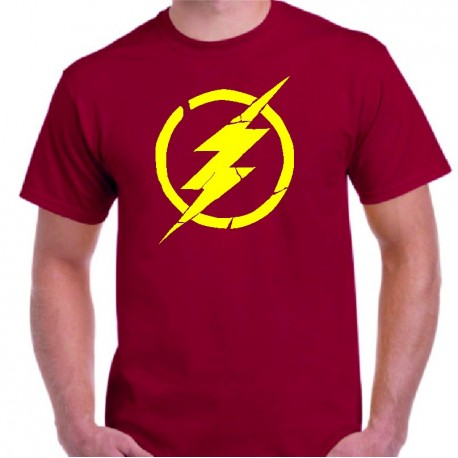 Camiseta Flash Vintage