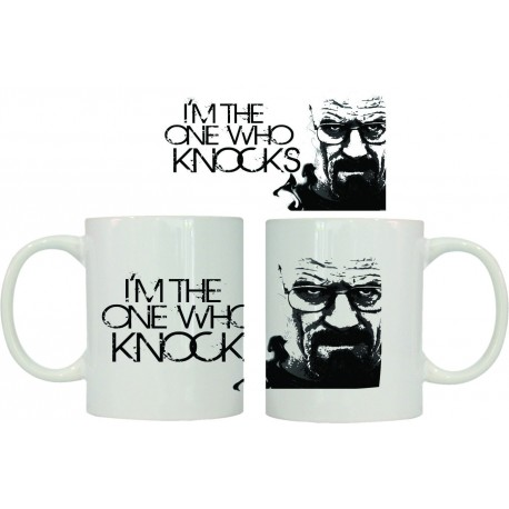 Taza Breaking Bad I`m the one who knocks