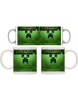Taza Minecraft Logo
