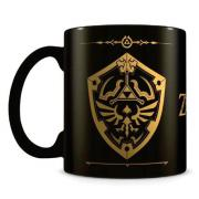 Taza Escudo Hyliano The Legend of Zelda - Imagen 1