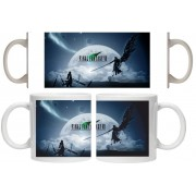 Taza Final Fantasy VII moon