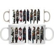 Taza Assassin's Creed characters
