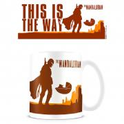 Taza This is the Way The Mandalorian Star Wars - Imagen 1