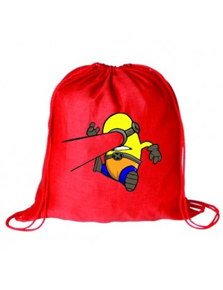 Bolsa Minion Cyclope Rojo