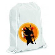 Mochila Dragon Ball Goku Silouette