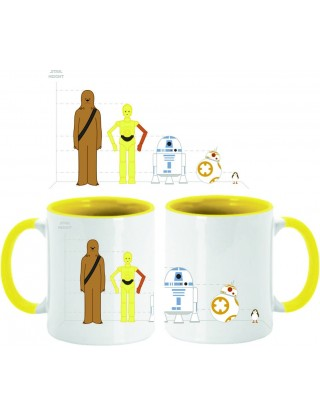 Taza Star Wars Height