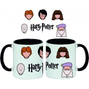 Taza Harry Potter Faces