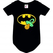 Body bebé Batman Chupete