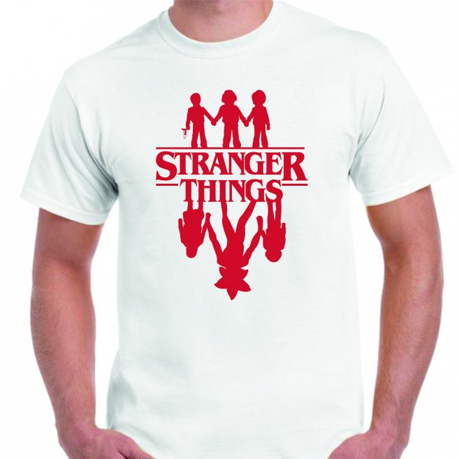 Camiseta Stranger Things ¿Amigos?