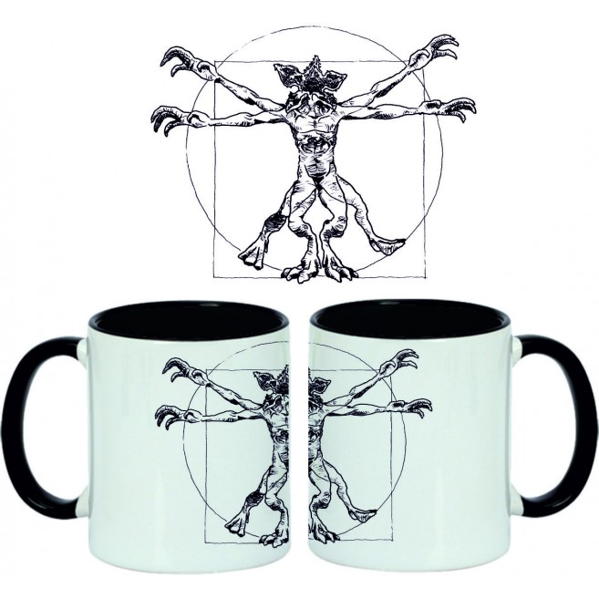 Taza Stranger Things Demogorgon de Vitrubio