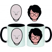 Taza Harry Potter vs Voldemort Faces