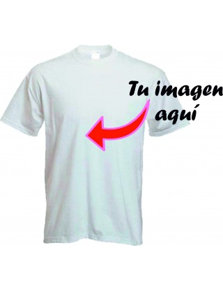 Camiseta personalizada 20 UNIDADES